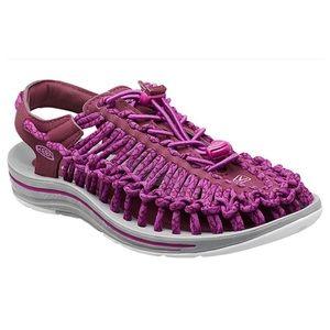 Keen Uneek Strappy Sandal Womens Purple Pink